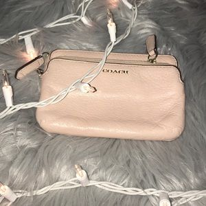 Coach Baby Pink Wristlet